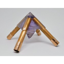 Ápice para piramide de meditação.