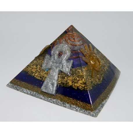 a Piramide Orgonite G c/relevo