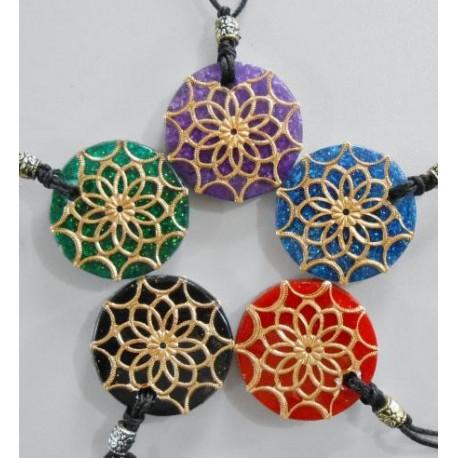 Pingente Mandala Orgonite