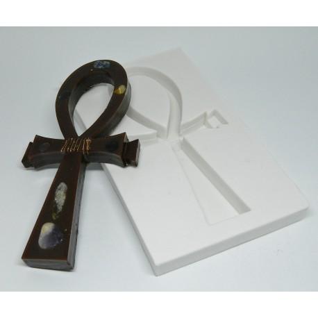 Forma de silicone Cruz Ankh