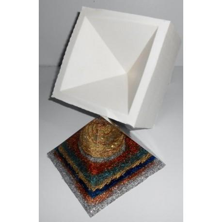 z Forma de silicone piramidal G