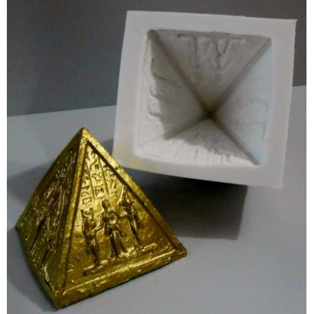 z Forma de silicone piramide DEUSES EGIPCIOS